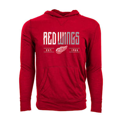 (Levelwear Splitter Armstrong Hoodie - Detroit Red Wings - Adult)