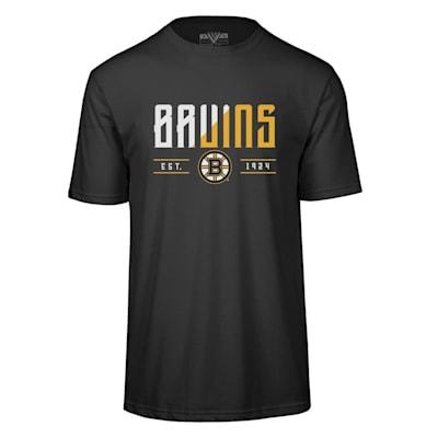 (Levelwear Splitter Richmond Short Sleeve Tee Shirt - Boston Bruins - Adult)