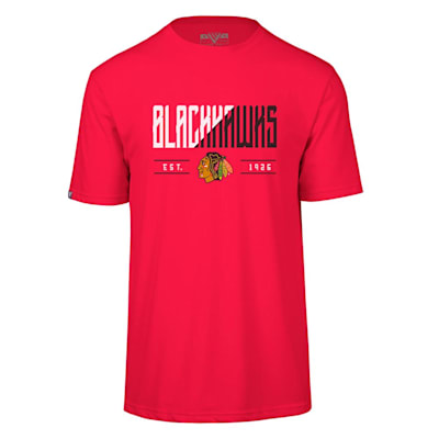 (Levelwear Splitter Richmond Short Sleeve Tee Shirt - Chicago Blackhawks - Adult)