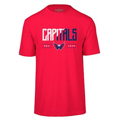 (Levelwear Splitter Richmond Short Sleeve Tee Shirt - Washington Capitals - Adult)