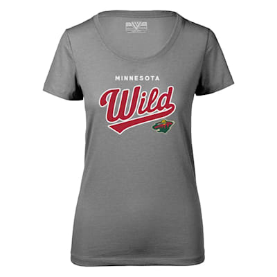 (Levelwear Tail Sweep Daily Short Sleeve Tee Shirt - Minnesota Wild - Womens)