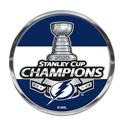 (Wincraft 2020 Stanley Cup Domed Auto Emblem - Tampa Bay Lightning)