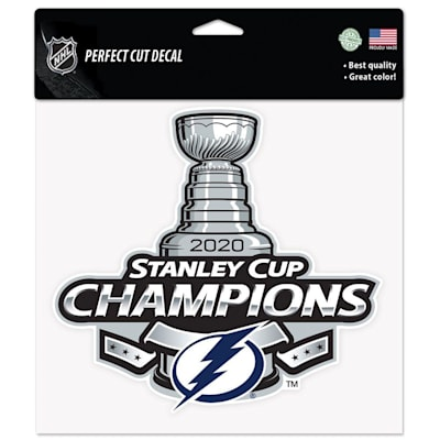 (Wincraft 2020 Stanley Cup Perfect Decal - Tampa Bay Lightning)