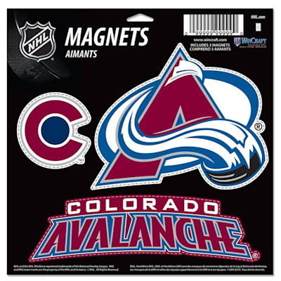 (Wincraft 3 Pack Magnet - Colorado Avalanche)