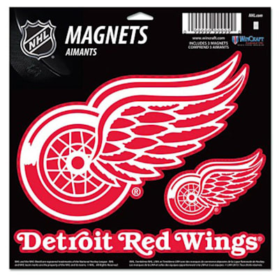 (Wincraft 3 Pack Magnet - Detroit Red Wings)