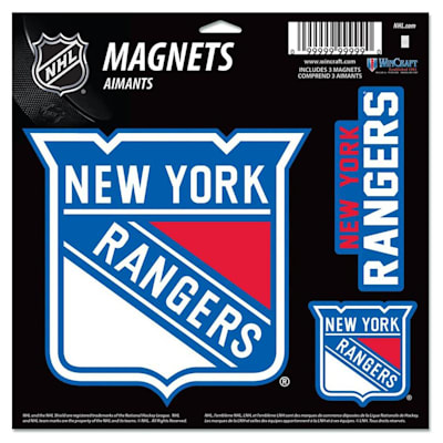 (Wincraft 3 Pack Magnet - NY Rangers)