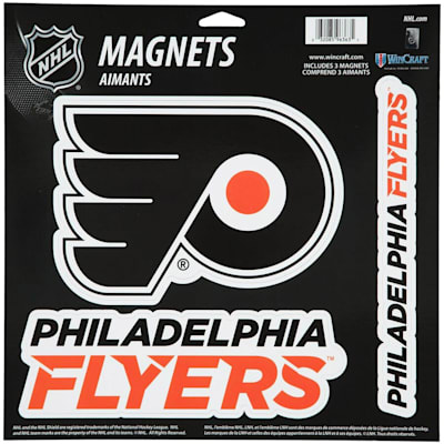 (Wincraft 3 Pack Magnet - Philadelphia Flyers)