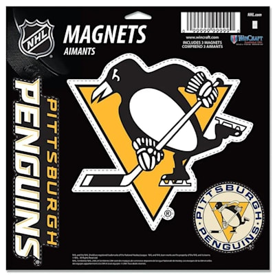 (Wincraft 3 Pack Magnet - Pittsburgh Penguins)