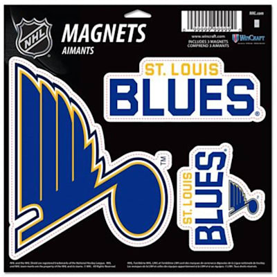 (Wincraft 3 Pack Magnet - St. Louis Blues)