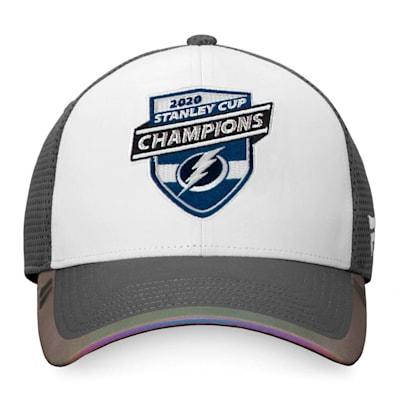 (Fanatics Tampa Bay Lightning 2020 Stanley Cup Champions Locker Room Cap - Adult)