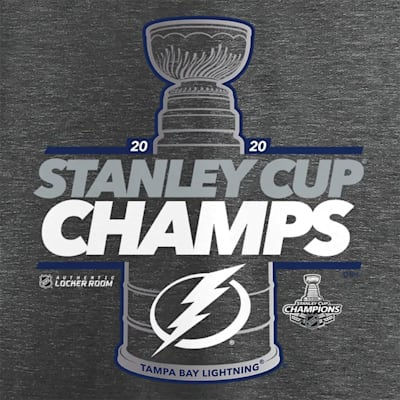 (Fanatics Tampa Bay Lightning 2020 Stanley Cup Champions Locker Room Tee - Adult)