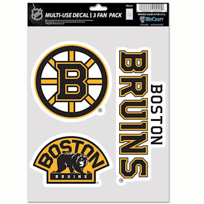 (Wincraft Multi-Use Decal Pack - Boston Bruins)