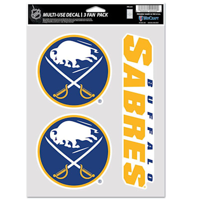 (Wincraft Multi-Use Decal Pack - Buffalo Sabres)