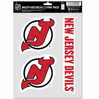 (Wincraft Multi-Use Decal Pack - NJ Devils)