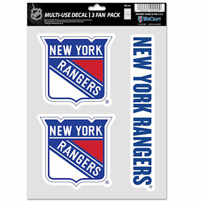 (Wincraft Multi-Use Decal Pack - NY Rangers)