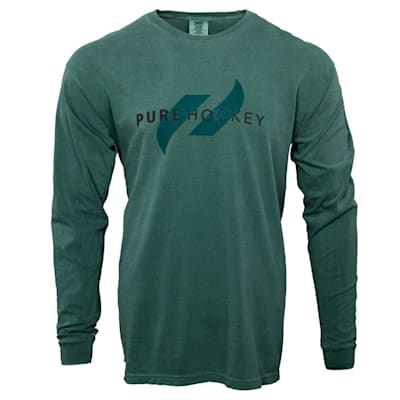 (Pure Hockey Classic Comfort Long Sleeve Tee Shirt - Adult)