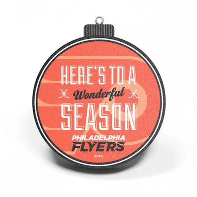 (YouTheFan NHL 3D StadiumView Ornament - Philadelphia Flyers)