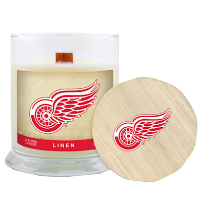 (Detroit Red Wings 8oz Candle - Linen)
