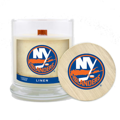 (NY Islanders 8oz Candle - Linen)
