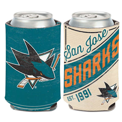 (Wincraft Retro Can Cooler - SJ Sharks)