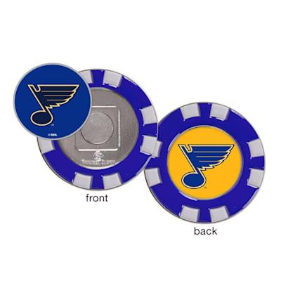 (Wincraft Poker Chip Ball Marker - St. Louis Blues)
