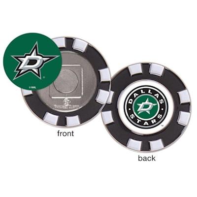 (Wincraft Poker Chip Ball Marker - Dallas Stars)