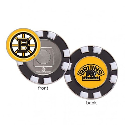 (Wincraft Poker Chip Ball Marker - Boston Bruins)