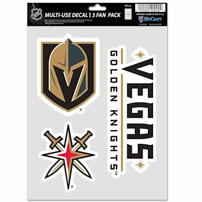(Wincraft Multi-Use Decal Pack - Vegas Golden Knights)