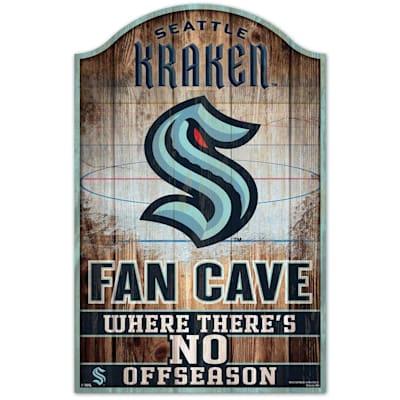 (Wincraft NHL Wood Sign - Seattle Kraken)