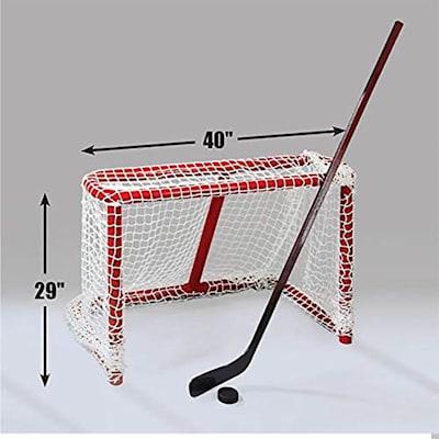 (Nashti Sports Adjust-a-Goal Original Hockey Goal)