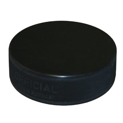 Black (Official Ice Hockey Puck - Black 6 Ounce)