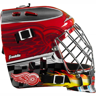 One Size Fits All (Franklin NHL Team SX COMP GFM 100 Street Hockey Goalie Mask - Youth)