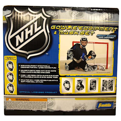 Set (Franklin Shinny Goalie Equipment & Mask Set)