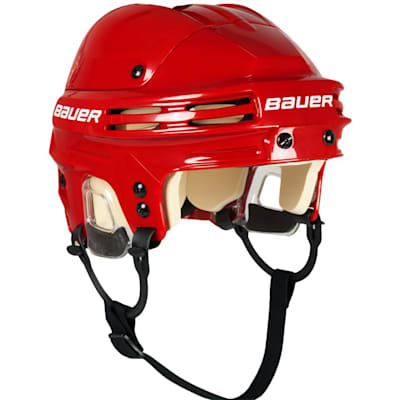Red (Bauer 4500 Hockey Helmet)