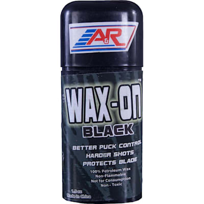 Black (A&R Wax-On Hockey Stick Wax)