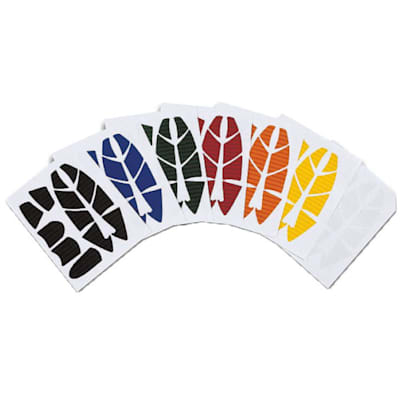 Assorted colors (Reebok Custom Hockey Helmet Stickers)