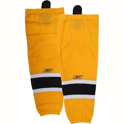 Home/Dark (Reebok SX100 Edge Gamewear Hockey Socks - Boston Bruins - Intermediate)