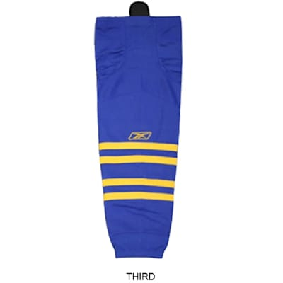 Third (Reebok Buffalo Sabres Edge SX100 Hockey Socks - Junior)