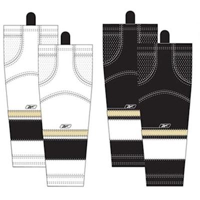 Intermediate (Reebok Pittsburgh Penguins Edge SX100 Hockey Socks - Intermediate)