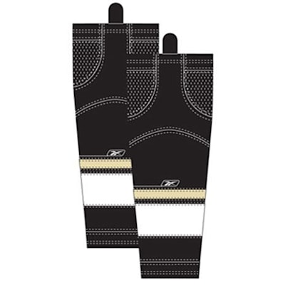 Home/Dark (Reebok Pittsburgh Penguins Edge SX100 Hockey Socks - Intermediate)