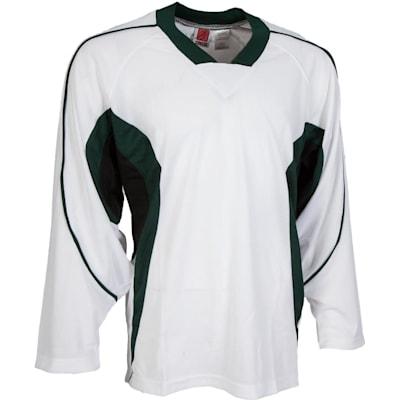 White/Green/Black (14200 Flexx Lite Team Hockey Jersey - Los Angeles Kings - Junior)