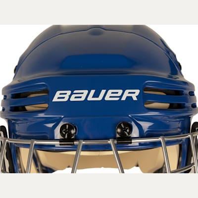Front of Helmet (Bauer 4500 Hockey Helmet Combo)