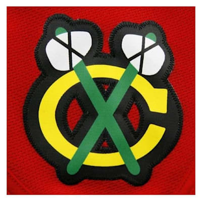 Shoulder logo (Reebok Chicago Blackhawks Premier Jersey HOME - Womens)