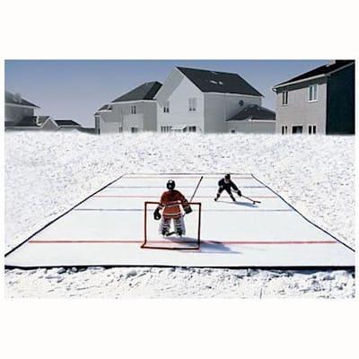 Home Rinks Backyard Ice Hockey Rink Starter Kit | Pure ...