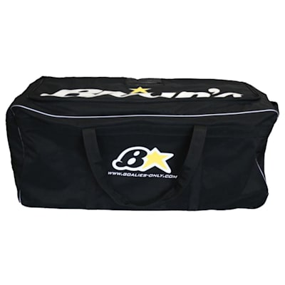 Black (Brians Star Goalie Wheel Bag - Senior)