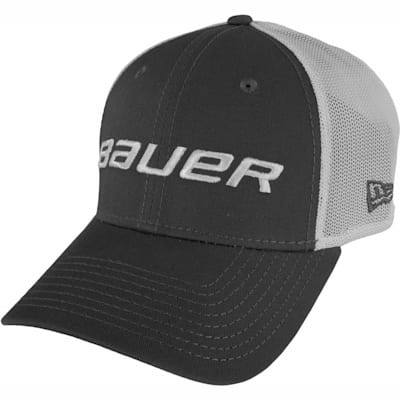 Grey (Bauer 39THIRTY Stretch Mesh Fitted Hat - Adult)