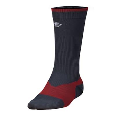 Charcoal (Easton Stealth Advanced Skate Socks - Adult)