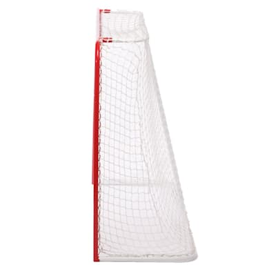 "Side View (USA Hockey 54"" Intermediate Hockey Net With 1"" Posts)"