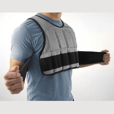 Vest closure system (SKLZ Weighted Vest)