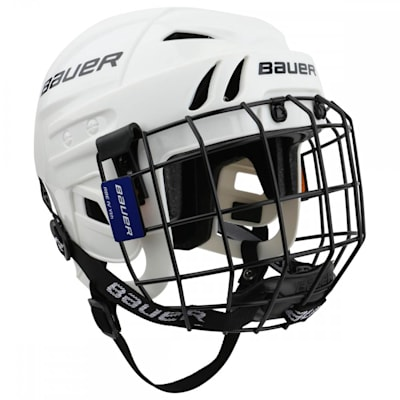 M104 Helmet Combo (Bauer M104 Hockey Helmet w/Cage)